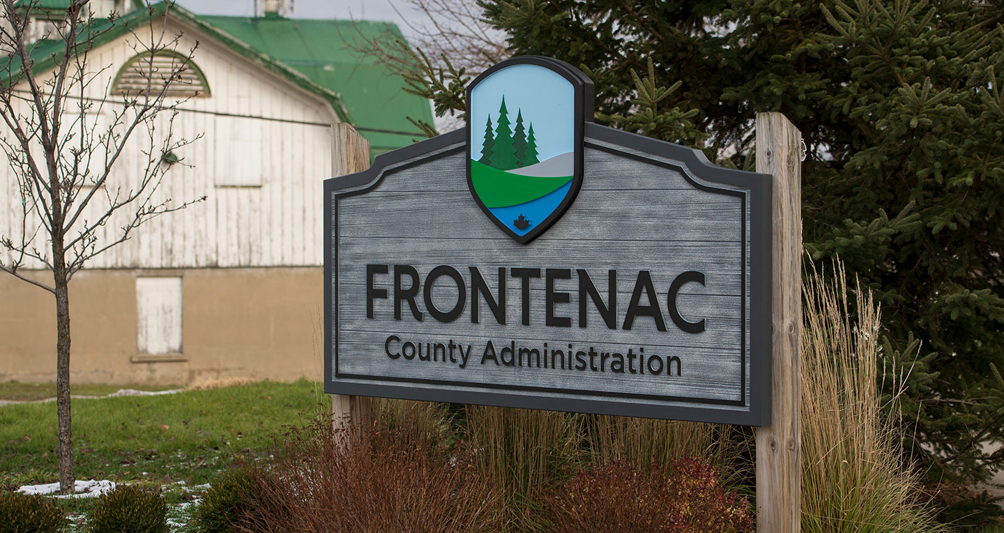 frontenac-sign-county-administration
